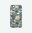 batik phonecase 25 vector image vector image