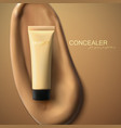 Foundation cream packaging design