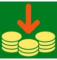 Income Icon from Commerce Set vector image
