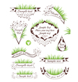 Milk banners collection vector image vector image