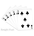 Poker cards vector image vector image