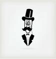 Logo Gentlemens Club vector image