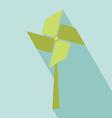 Wind Turbine Icon vector image