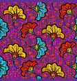 african wax print fabric ethnic seamless design vector image vector image