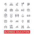 business education mba training coaching vector image vector image