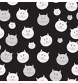 Cat Seamless Pattern Background vector image vector image