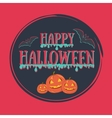 Colorful Happy halloween vector image