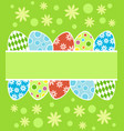 easter background card vector image vector image