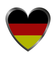 Heart with flag of germany