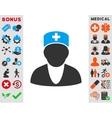 Medic Icon vector image vector image