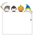 Postcard halloween vector | Price: 1 Credit (USD $1)