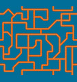 seamless pattern sewer pipe vector image vector image