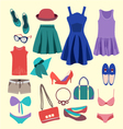 summer Fashion vector image vector image
