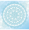 Beautiful nature pattern background vector image vector image