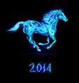 Fair Horse Run2 2014 02 vector image vector image
