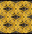 modern baroque seamless pattern geometric vector image