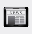 news design vector image