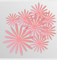 paper flower origami30 vector image vector image