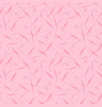 pattern from flowing lines on a pink background vector image