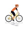 Racing bike design vector image