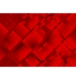 Red squares background vector image vector image