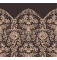 seamless beige lace vector image vector image