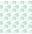 Spiral green seamless pattern vector image vector image