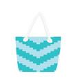 summer fashionable bag vector image vector image