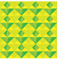 yellow and green square seamless pattern vector image
