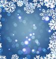 Snowflakes Winter seamless border seamless texture vector image