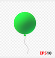 ballon isolated on a transparent vector image vector image
