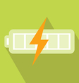 Battery Charger Icon vector image vector image