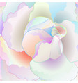 detail rose multicolored rose watercolor vector image vector image