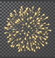 fireworks festival colorful firework illustration vector image