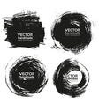 Handmade black strokes- backgrouns painted ink vector | Price: 1 Credit (USD $1)