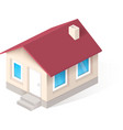 House isometric icon vector image