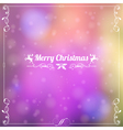 Retro Christmas Frame vector image vector image