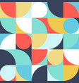 seamless mottled abstract geometric print vector image vector image