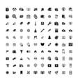 Set of 100 Universal Icons Business internet web