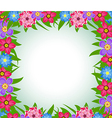 Spring flower background vector image