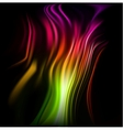 Colorful wavy abstract background for design vector image