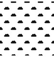 flying cloud pattern seamless vector image vector image