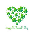 happy st patricks day creative vector image vector image