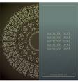 menu design for vector image