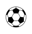 soccer ball icons flat vector image