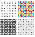 100 kids games icons set variant vector image vector image