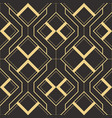 abstract art deco geometric pattern vector image vector image