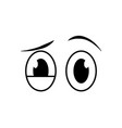 abstract eye expression vector image