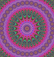 Abstract oriental star mandala design background vector image vector image