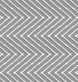 Geometrical pattern with horizontal chevron lines vector image